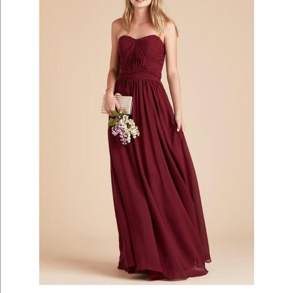 d2adad0425d Birdy Grey Dresses   Skirts - Birdy Greg Grace Convertible Dress - Pinot  Noir